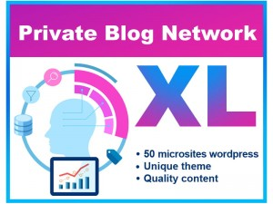 Private Blog Network PBN SEO (XL)