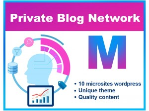 Private Blog Network PBN SEO (M)