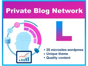 Private Blog Network PBN SEO (L)